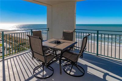 Clearwater Beach Condo For Sale: 1390 Gulf Boulevard #801