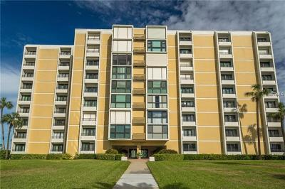 Clearwater, Clearwater Beach Condo For Sale: 851 Bayway Boulevard #704