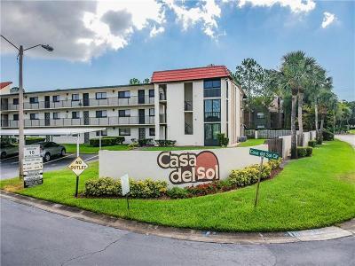 Belleair, Clearwater, Clearwater Beach, Dunedin, Largo, Palm Harbor, St Petersburg Condo For Sale: 3055 Casa Del Sol Circle #307