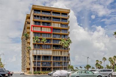 St Pete Beach Condo For Sale: 5396 Gulf Boulevard #808