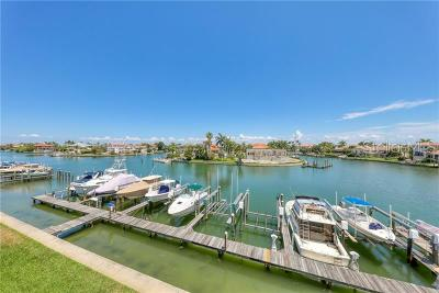 St Petersburg Townhouse For Sale: 545 Pinellas Bayway S #107