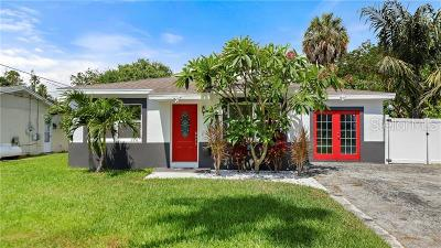 St Petersburg Single Family Home For Sale: 1702 Bayou Grande Boulevard NE