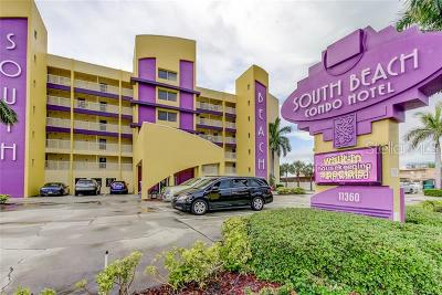 Treasure Island Condo For Sale: 11360 Gulf Boulevard #206