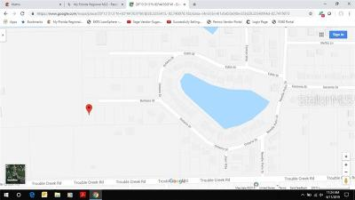 New Port Richey Residential Lots & Land For Sale: Lot 1 Barbara Street
