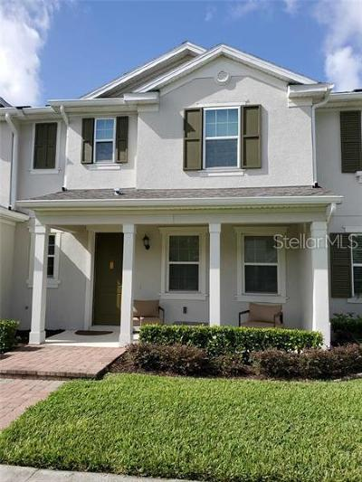 Windermere Townhouse For Sale: 13743 Calera Alley