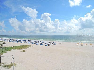 St Pete Beach Condo For Sale: 5800 Gulf Boulevard #403