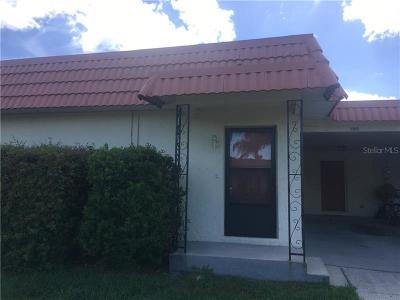 New Port Richey Villa For Sale: 3945 Del Rio Avenue