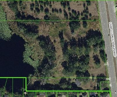 Land O Lakes Residential Lots & Land For Sale: 5927 Land O Lakes Boulevard