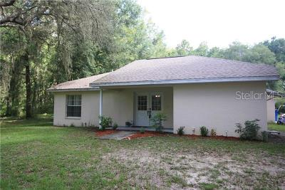 Brooksville Single Family Home For Sale: 25121 Cortez Boulevard