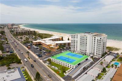 Saint Pete Beach, St Pete Beach Condo For Sale: 4950 Gulf Boulevard #704