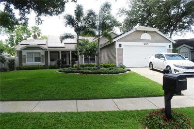 Palm Harbor Single Family Home For Sale: 968 Edgehill Drive