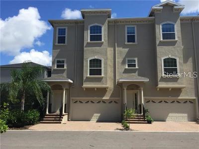 Seminole Townhouse For Sale: 10075 Bayou Grande Avenue