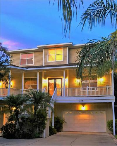 Crystal Beach Single Family Home For Sale: 897 Point Seaside Drive