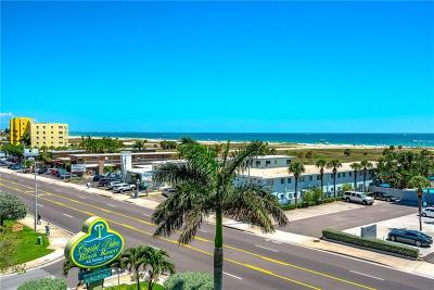 Treasure Island Condo For Sale: 11605 Gulf Boulevard #504