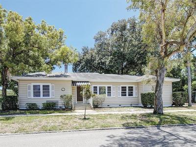 St Petersburg Single Family Home For Sale: 463 30th Street N