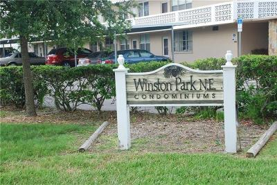 Hernando County, Hillsborough County, Pasco County, Pinellas County Condo For Sale: 4720 Locust Street NE #201