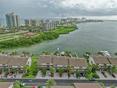 Clearwater Beach Townhouse For Sale: 130 Marina Del Rey Court