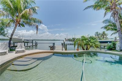 N. Redington, North Redington Beach Single Family Home For Sale: 17323 Kennedy Drive