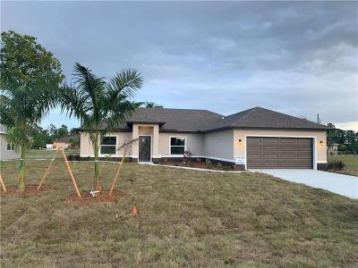 Punta Gorda Single Family Home For Sale: 16094 Ortega Drive