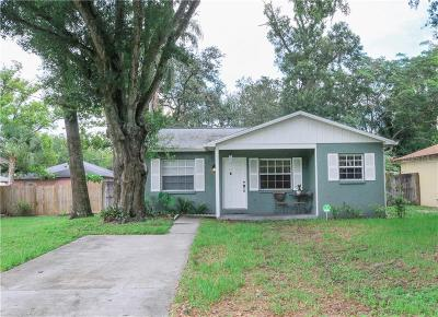 Tampa Single Family Home For Sale: 1305 W Clinton Street