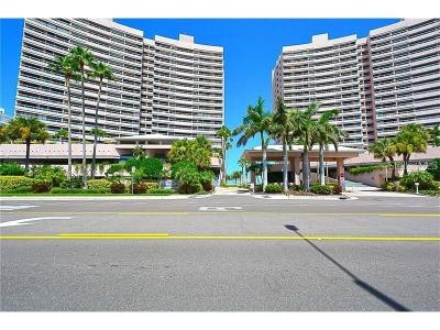 Clearwater, Clearwater Beach Condo For Sale: 1310 Gulf Boulevard #8A