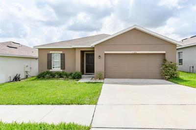 Haines City Single Family Home For Sale: 128 S Tanager Street