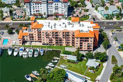 Clearwater Beach, Indian Rocks Beach, Indian Shores, Redington Beach, Redington Shores, Madeira Beach, Treasure Island, Tierra Verde, Belleair Beach, St. Pete Beach, Treasure Island  Condo For Sale: 13235 Gulf Boulevard #C-1