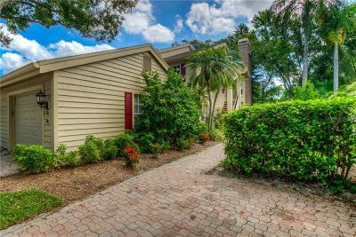 Belleair Townhouse For Sale: 38 Pelican Place