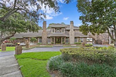 Palm Harbor Single Family Home For Sale: 3501 Shoreline Circle