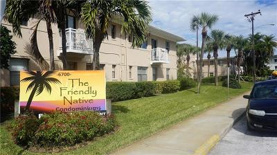 St Pete Beach Condo For Sale: 6700 Sunset Way #407