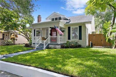 St Petersburg Single Family Home For Sale: 152 21st Avenue N