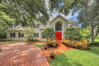 Belleair Single Family Home For Sale: 2 West Lane