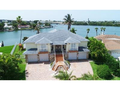 Saint Pete Beach, St Pete Beach, St Petersburg Beach, St. Pete Beach Single Family Home For Sale: 3876 Belle Vista Dr E