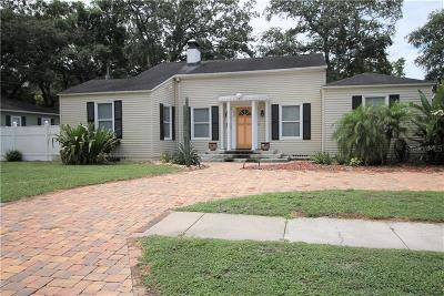 Tampa Single Family Home For Sale: 3024 W Lawn Avenue