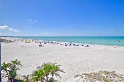 St Pete Beach Condo For Sale: 4950 Gulf Boulevard #709
