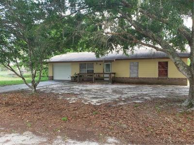 Lady Lake Single Family Home For Sale: 302 W Rose Lane
