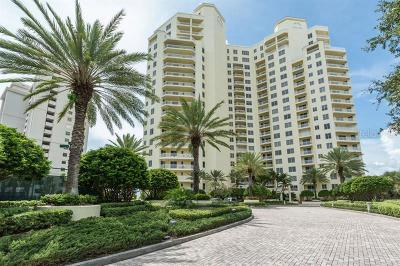Clearwater Condo For Sale: 1200 Gulf Boulevard #406