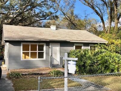 Tampa Single Family Home For Sale: 7212 Rhode Island Drive