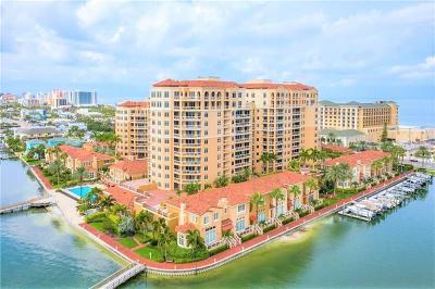 Clearwater Beach Townhouse For Sale: 525 Mandalay Avenue #35