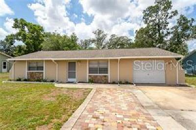Spring Hill FL Single Family Home For Sale: $115,900