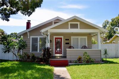 St Petersburg Single Family Home For Sale: 2342 Dartmouth Avenue N