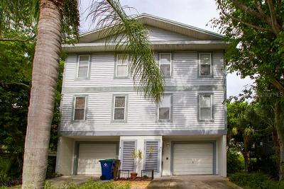 Indian Rocks Beach Duplex For Sale: 611 2nd Street #A