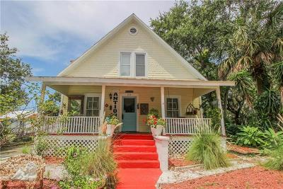 Tarpon Springs Single Family Home For Sale: 313 N Grosse Avenue