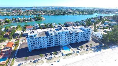 Treasure Island Condo For Sale: 8470 W Gulf Boulevard #405
