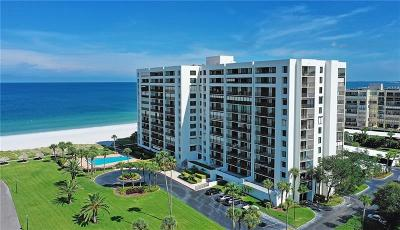 Clearwater Beach Condo For Sale: 1460 Gulf Boulevard #307