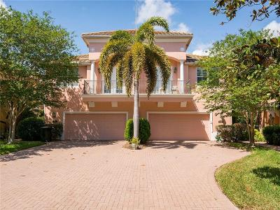 St Petersburg Townhouse For Sale: 132 Banyan Bay Drive