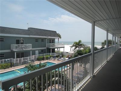 St Pete Beach Condo For Sale: 4220 Gulf Boulevard