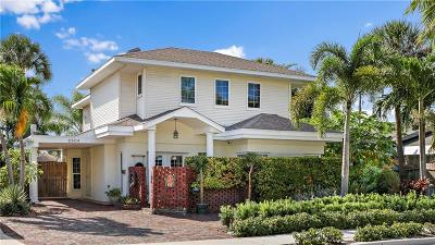 St Pete Beach Single Family Home For Sale: 2504 Pass A Grille Way