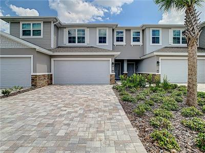 New Port Richey Townhouse For Sale: 5284 Riverwalk Preserve Drive