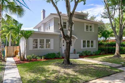 St Petersburg Single Family Home For Sale: 416 18th Avenue NE